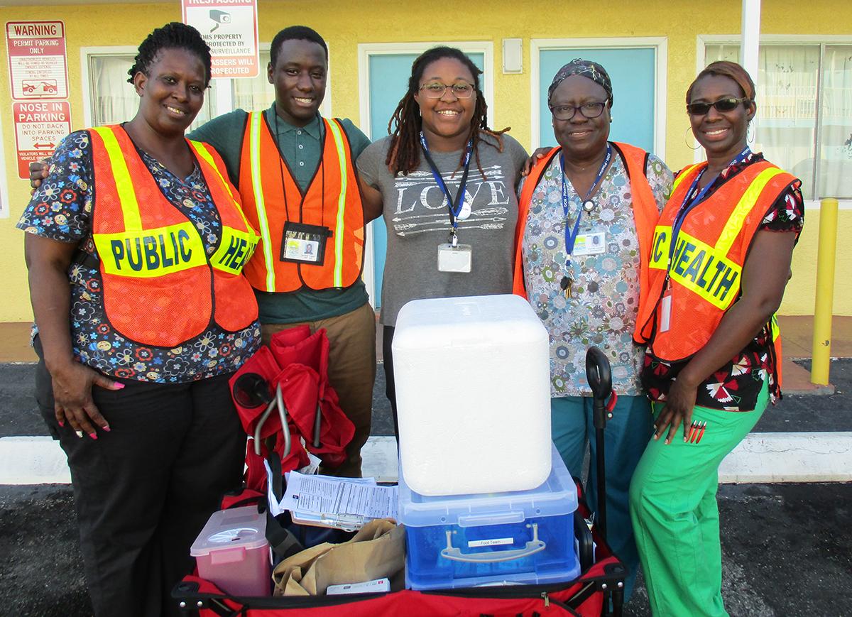 Florida Department of Health Vaccine Team